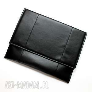 pomysł na prezenty święta Kopertówka XL - czarna, elegancka, nowoczesna, aktówka