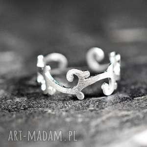 925 Srebrny pierścione ORNAMENT, ornament, orient, pierścień, inide, natura, srebro