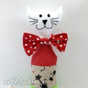 kot wesołek 3 - zabawka, maskotka, kot, kotek, rękodzieło