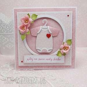 małe body dla maleństwa-kartka w pudełku - dziecko, witajnaświecie
