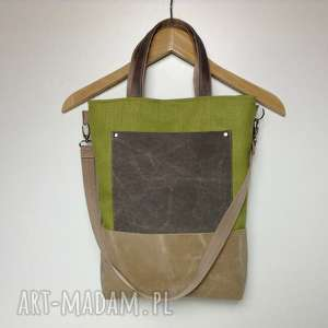 hand-made na laptopa torba do ręki, torba na ramię