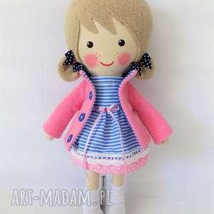 Prezent MALOWANA LALA ADELA, lalka, zabawka, przytulanka, prezent, niespodzianka