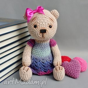 miśka marcela - miś, lalka, przytulanka, prezent, urodziny, dziecko