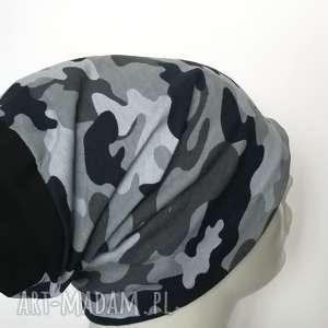 czapki czapka dzianinowa charakter wojskowy unisex sportowa, czapka, wojskowa