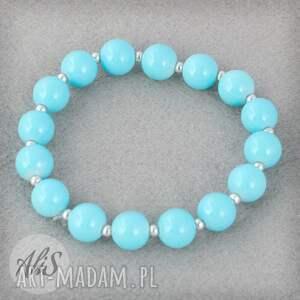Elegancki błękit - Ręcznie wykonane