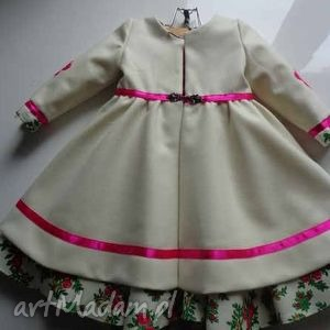 Kids folk design płaszczyk folkdesign folk, góralskie