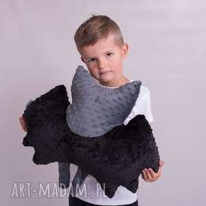 poduszka dziecięca nietoperz, nietoperz poduszka, batman hand made, przytulanka