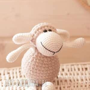 owieczka luiza, owca, szydełkowa, maskotka, owieczka, przytulanka, sheep, pod