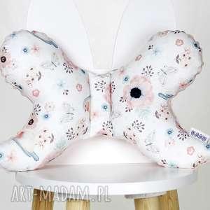 pokoik dziecka motylek- poduszka antywstrząsowa kwiaty i ptaki
