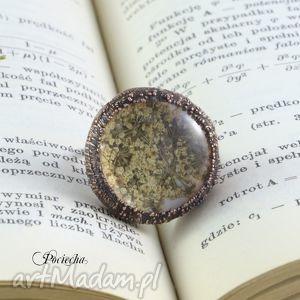 hand made pierścionki na łące - pierścionek z polnymi kwiatami