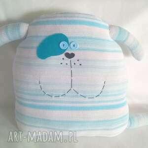 piesek niebieski, pies, piesek, poduszka, poducha, zabawka, prezent