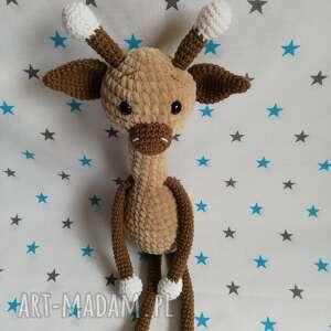 handmade maskotki żyrafa rozalia