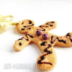 pomysł na upominek świąteczny OZDOBA CHOINKOWA ciastek, ozdoba, fimo, święta