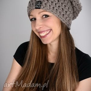Mono 19, czapka, zima, ciepła, długa, czapa, wełna