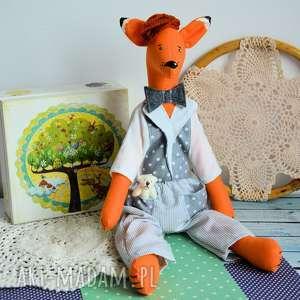 Lisek - przystojniak kamil 40 cm zabawki maly koziolek lisek