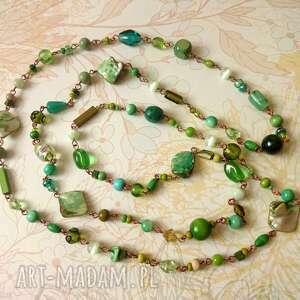 świąteczny prezent, green, długi, lekki, efektowny