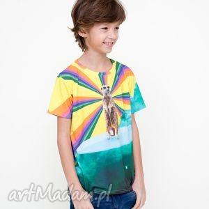 T-shirt dla dzieci z surykatką, mrgugu, koszulka, tshirt, kids, dziecko, surykatka