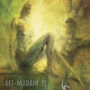 Obraz - Bliskość płótno, obraz, drukowany, nowoczesny, miłosny, akt