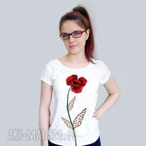 bluzki ręcznie malowana bluzka na prezent, bluzka, malowana, oryginalny prezent