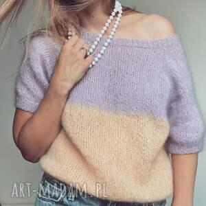 święta, ombre top, letnia bluzka, sweterek na drutach, bluzka drutach bluzki