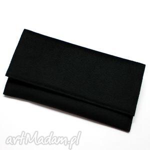 Prezent Kopertówka - czarna, elegancka, nowoczesna, wieczorowa, wesele, prezent