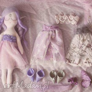 hand-made zabawki bajka z magiczną szafą - elfia lalka ametyst