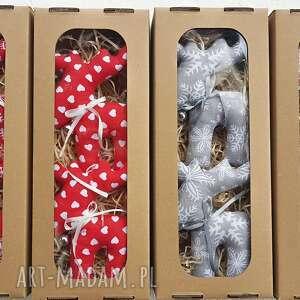 Pomysł na prezent świąteczny: Renifer łoś zawieszka w pudełku mix