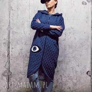 Blue Moon-bluza, płaszcz-bluza, boho-bluza, kimono-bluza, dresowa-bluza