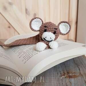 zakładka do książki małpka, książki, pomysł na prezent