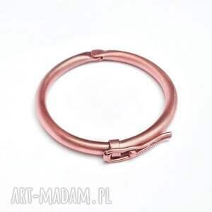 hand-made męska bransoleta z czystej miedzi. Jubilerska robota