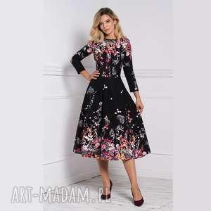 sukienki sukienka klara 3/4 total midi asteria