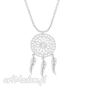 celebrate - dreamcatcher - necklace - łapacz