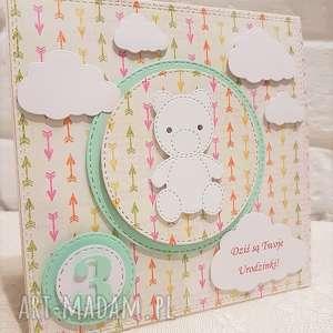 Urocza kartka urodzinowa, kartka, urodziny, dziecko, dziewczynka, chłopiec, życzenia