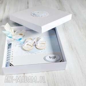 album w pudełku - prezent, chrzest