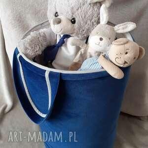 kosz na zabawki gwiazdki, zabawki, przechowywanie, dekoracje, pod choinkę