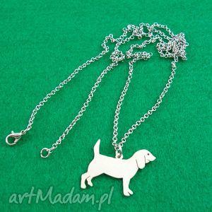 handmade naszyjniki naszyjnik beagle pies nr