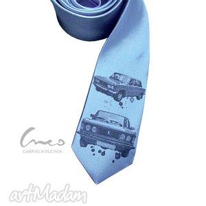 creo drukowany krawat - duży fiat, krawat, śledzik, drukowany, prezent