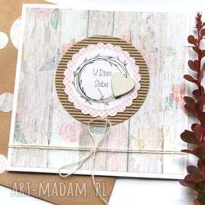 kartka ślubna :: handmade rustic, ślub