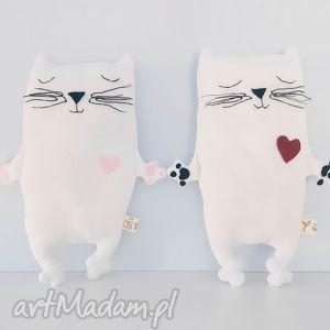 polarkowy kotek przytulaczek - ,kot,kotek,meow,zabawka,miś,polarkowy,