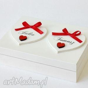 pudełko na obrączki ślubne romantyczne, pudełkonaobrączki, ślub, wesele