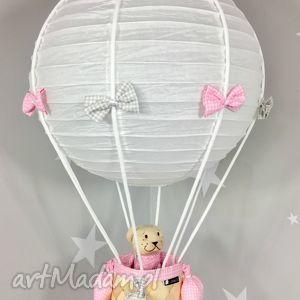 pokoik dziecka lampa lamado latający miś polski handmade, lampa, latający
