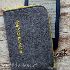filcowe etui na czytnik e-book czytambolubię, etui, filcowe, ebook, czytambolubię