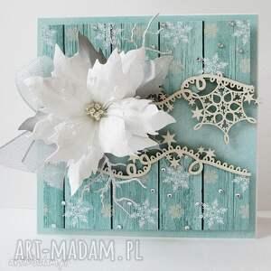 prezenty świąteczne Mroźna kartka w pudełku, życzenia, boże, narodzenie, święta, zima
