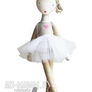 sofia baletowa lalka z sercem, lalka, szmacianka, tutu, balet, anioł