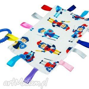 metkowiec zabawka sensoryczna - sensorek, metkowiec, niemowle, gryzak
