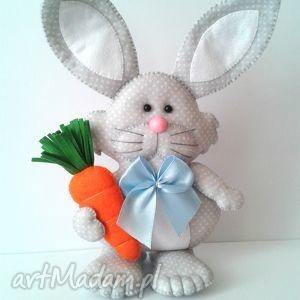 pomysły na święta prezenty Filcowy zając z marchewką, filc, zając, wielkanoc,