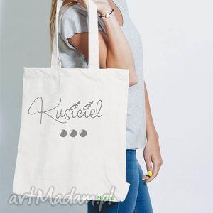 na zakupy bawełniana torba ekologiczna eko - kusiciel, bawełniana, torba