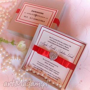 Zaproszenie na ślub - ,zaproszenia,ślub,kartka,wesele,