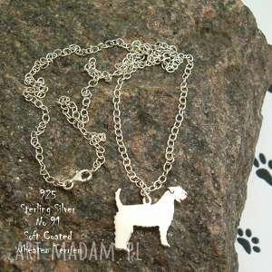 naszyjniki irlandzki terrier pszeniczny srebro próby 925 naszyjnik nr 91