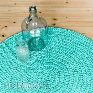 dywan 90 cm ze sznurka bawełnianego, dywan, sznurek, bawełniany dywany